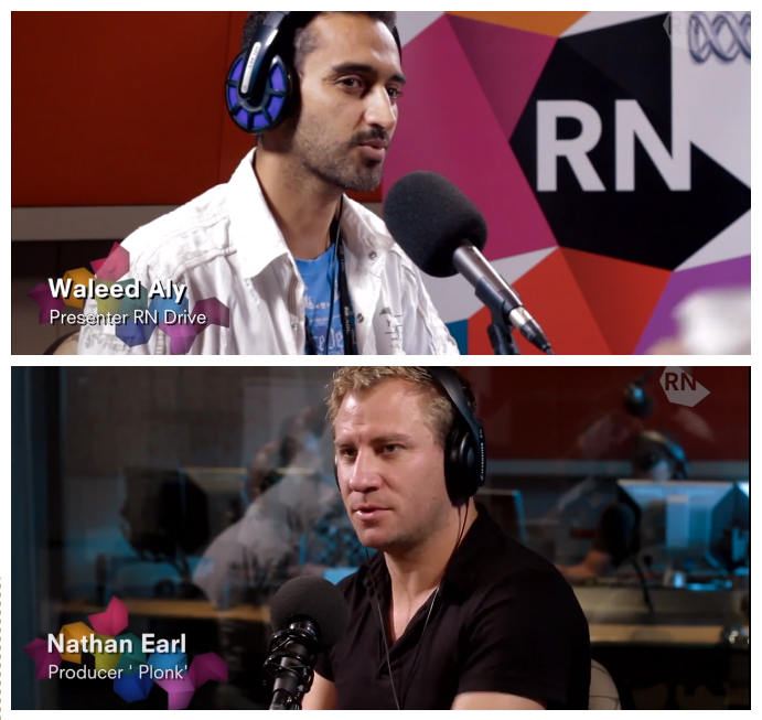 Radio National: Plonk Creator joins Waleed Aly in The Drawing Room